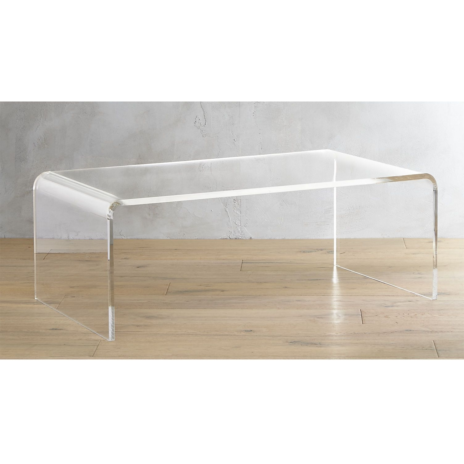 Most Recent Disappearing Coffee Tables In Peekaboo Acrylic Tall Coffee Table (View 15 of 20)