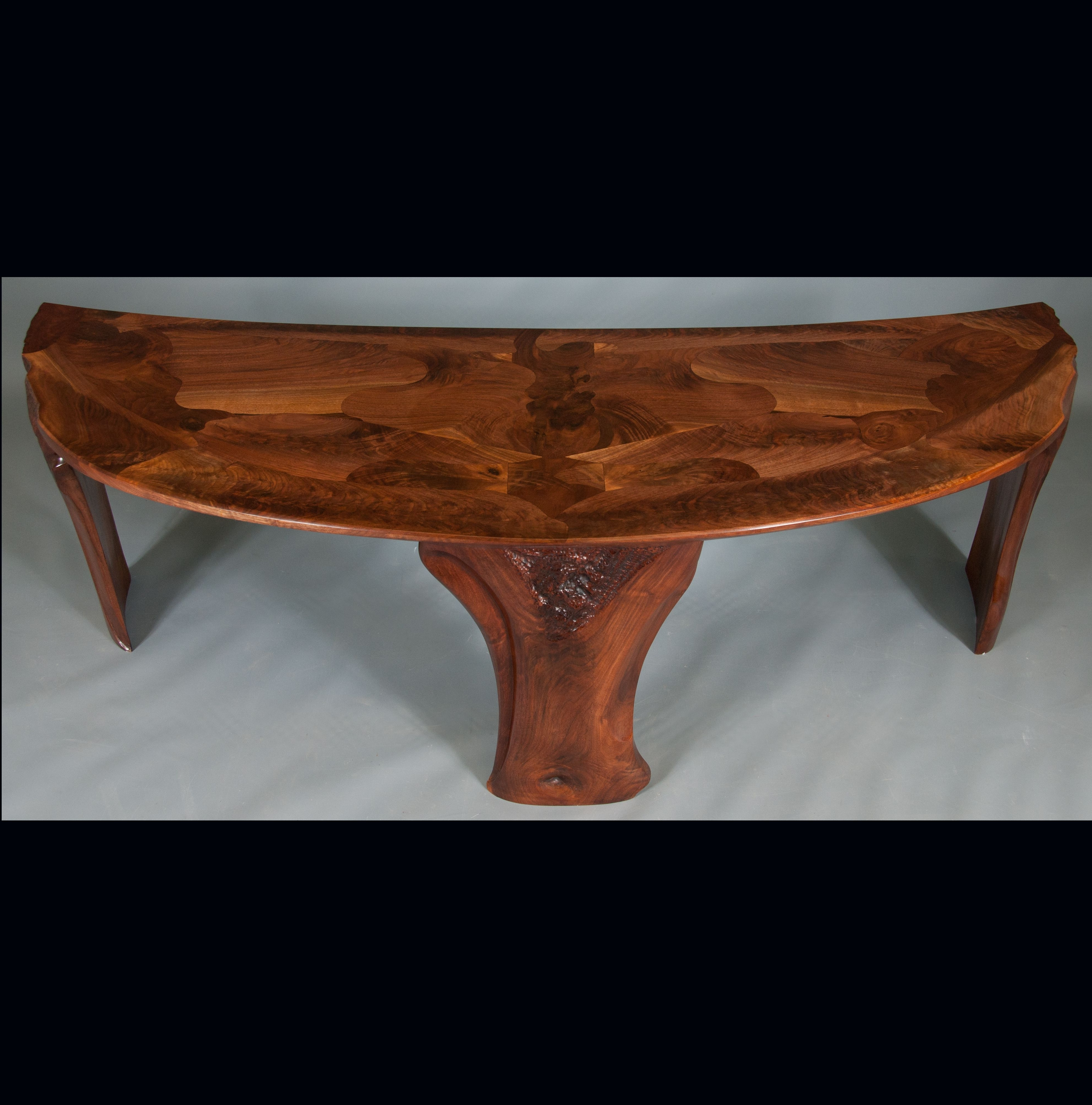 Most Recent Expressionist Coffee Tables In Custom Made Abstract Organic Expressionism In Furniture™ Walnut (View 6 of 20)