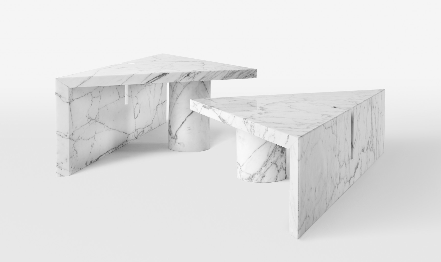 Most Recent Jackson Marble Side Tables With Portal Coffee Table (View 12 of 20)