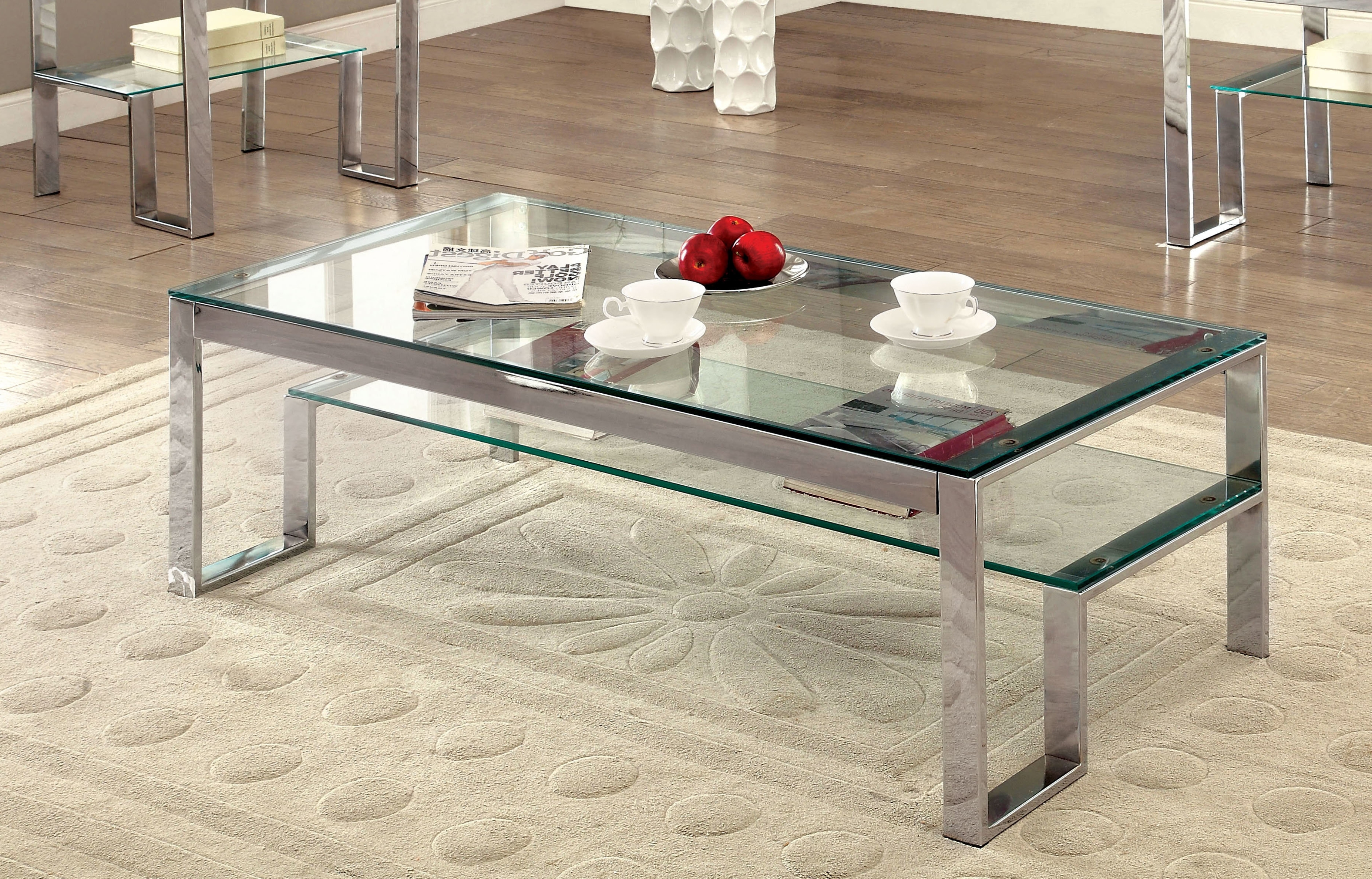 Most Recent Potomac Adjustable Coffee Tables For Wade Logan Mcnelly 2 Piece Coffee Table Set & Reviews (View 13 of 20)