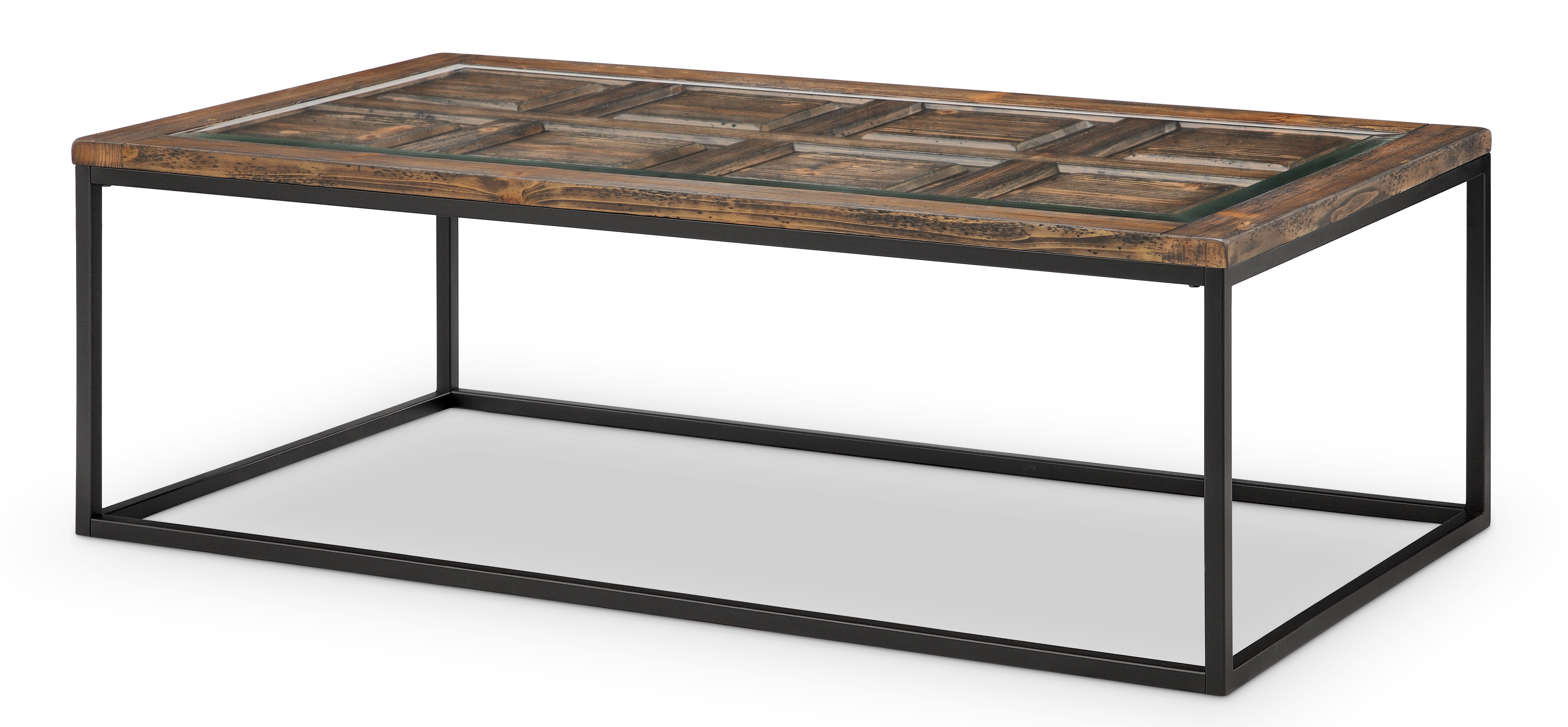 Most Recent Rectangular Coffee Tables With Brass Legs For Gracie Oaks Ajit Rectangular Coffee Table & Reviews (View 12 of 20)
