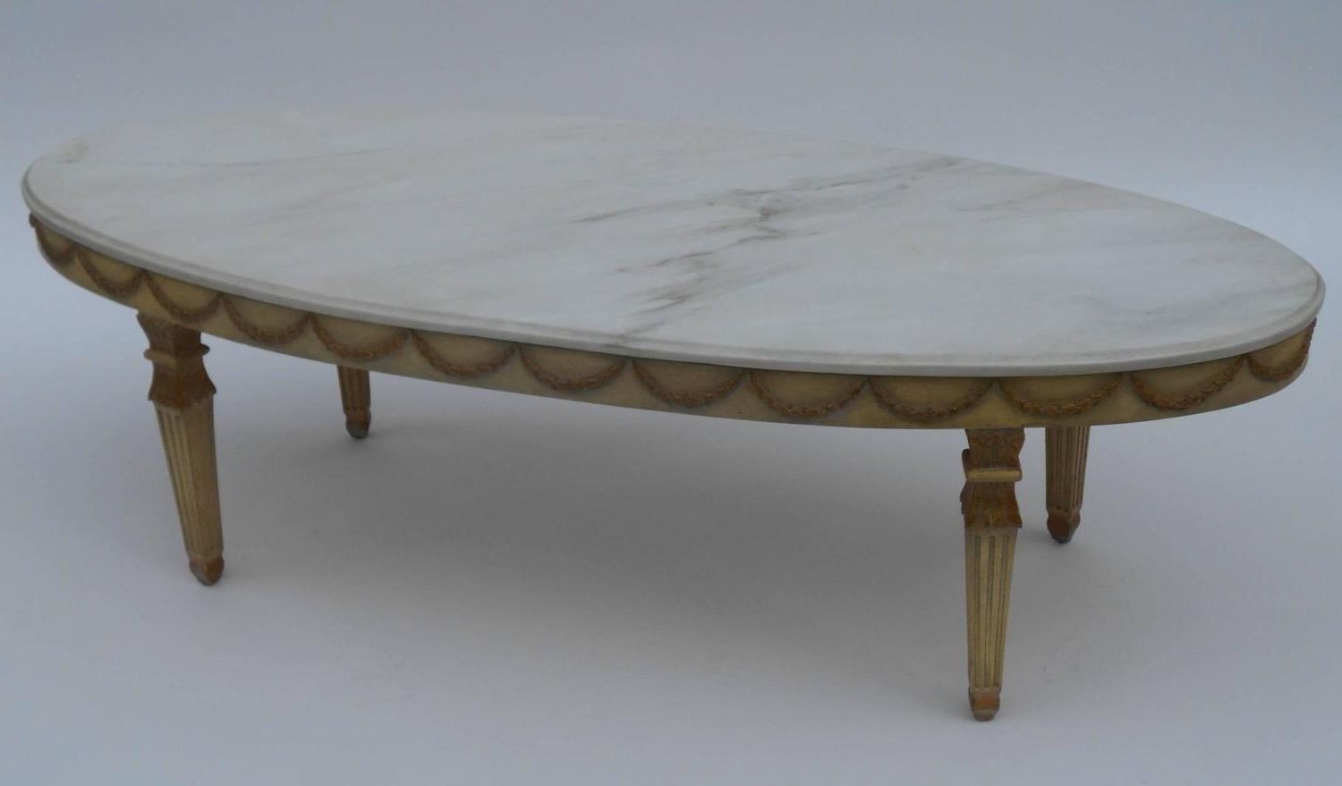 Most Recent Smart Round Marble Top Coffee Tables Throughout Italian Marble Top Coffee Table At 1Stdibs (View 15 of 20)