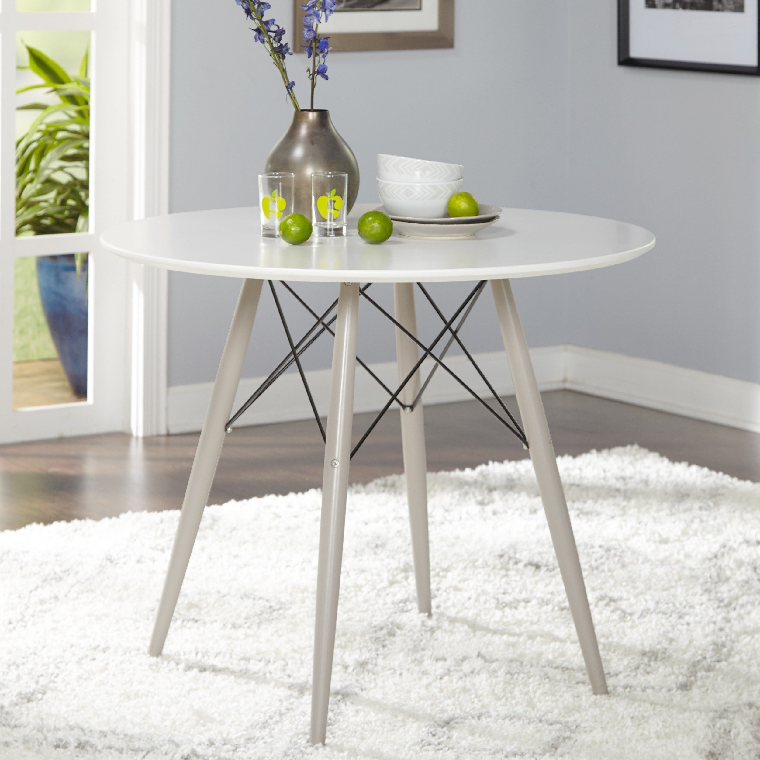 Most Recently Released Elba Ottoman Coffee Tables Intended For Shop Simple Living Elba Mid Century Dining Table – N/a – On Sale (View 11 of 20)
