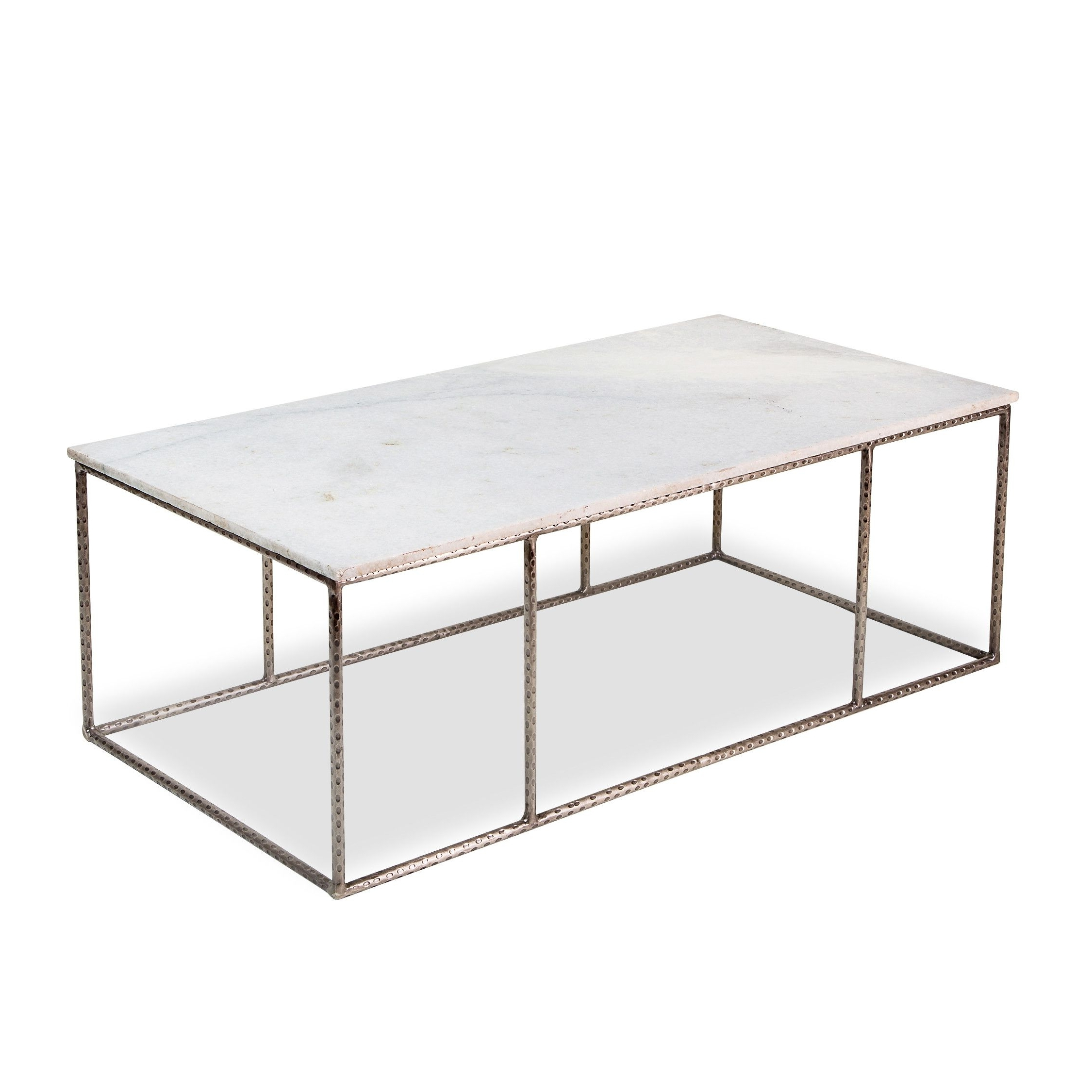Most Recently Released Large Slab Marble Coffee Tables With Antiqued Silver Base Within Manchester Marble Coffee Table (View 15 of 20)