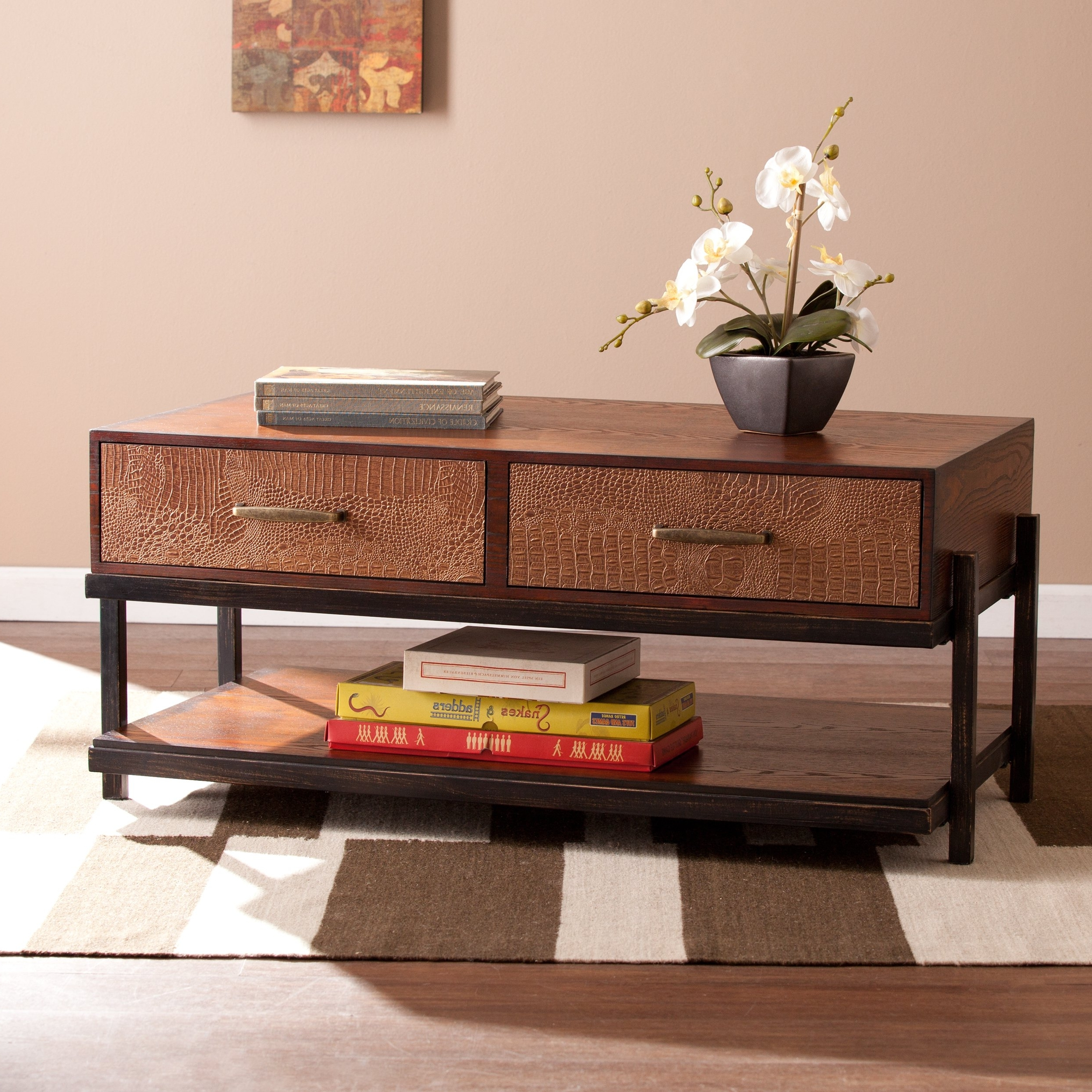Most Recently Released Palmer Storage Cocktail Tables With Regard To Shop Harper Blvd Palmer Cocktail/ Coffee Table – Free Shipping Today (View 4 of 20)