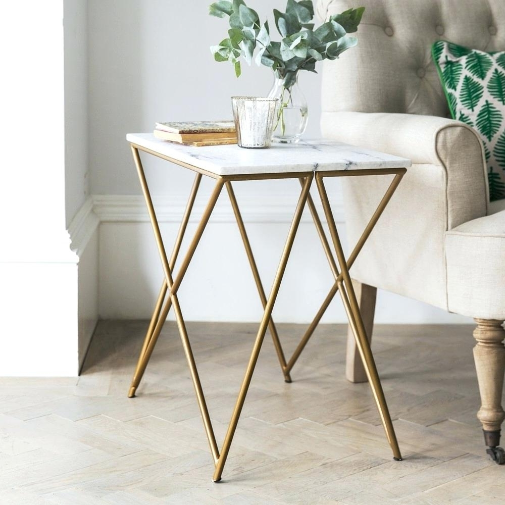 Most Recently Released Smart Large Round Marble Top Coffee Tables Throughout Side Table ~ Marble Top Side Tables Stellar White Table Smart Round (View 10 of 20)