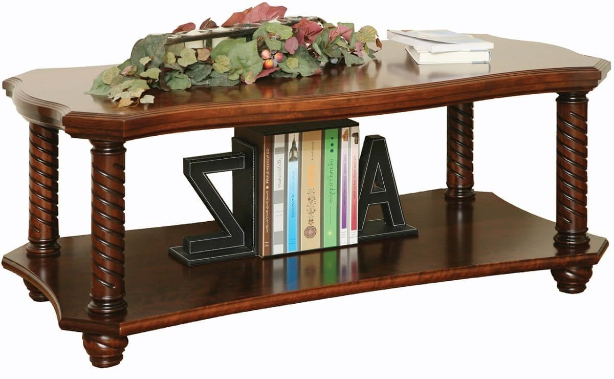 New Haven Ornate Coffee Table – Countryside Amish Furniture Intended For 2017 Haven Coffee Tables (View 16 of 20)