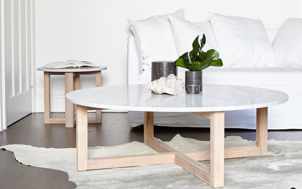 New Marble Coffee Table Within Rosa Modern Black Brushed Gold Pertaining To Most Recently Released Alcide Rectangular Marble Coffee Tables (View 16 of 20)