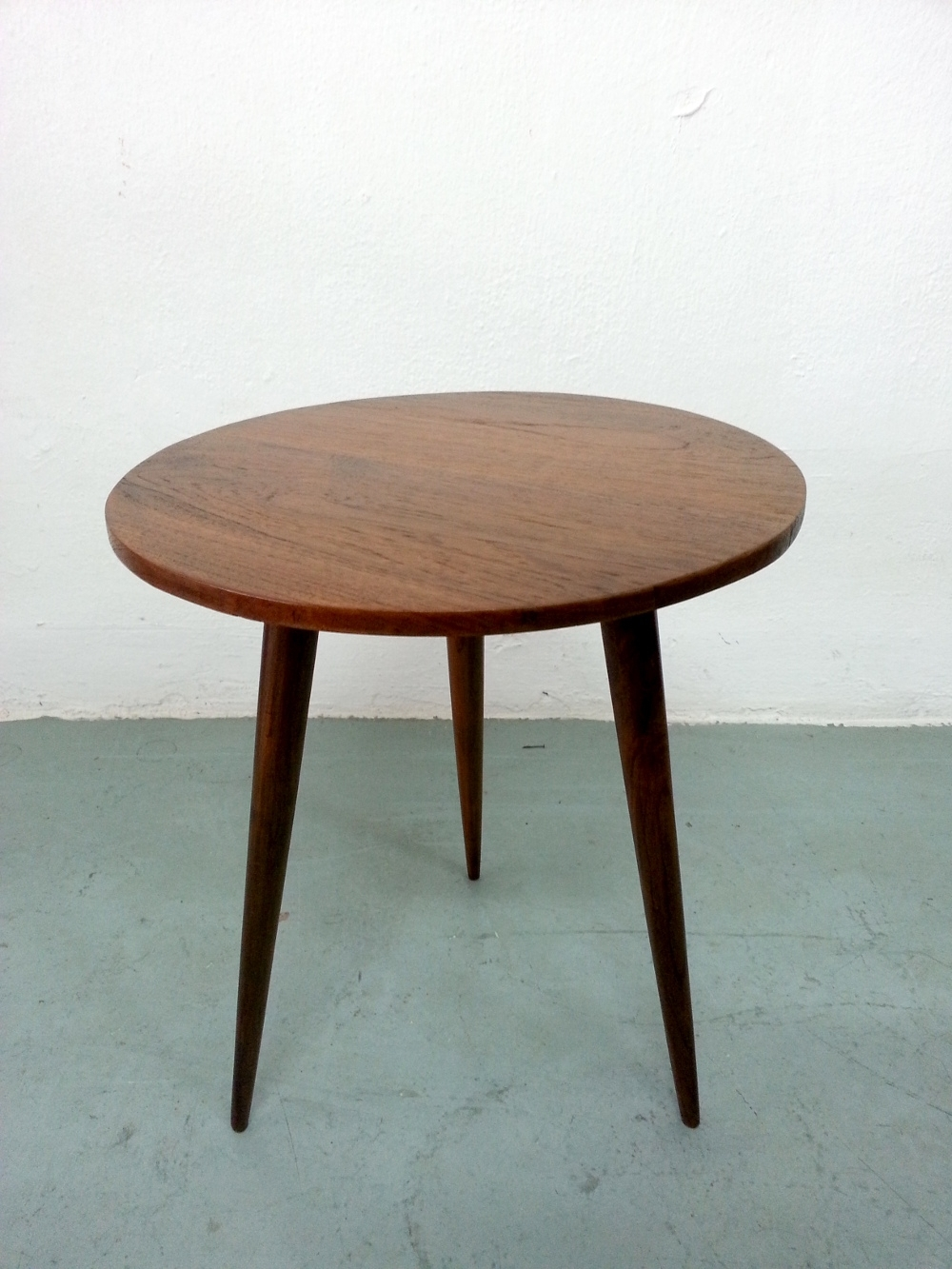 Newest Antiqued Art Deco Coffee Tables Intended For Rounded Mid Century Coffee Table « Things Your Mother Throw(s (View 8 of 20)