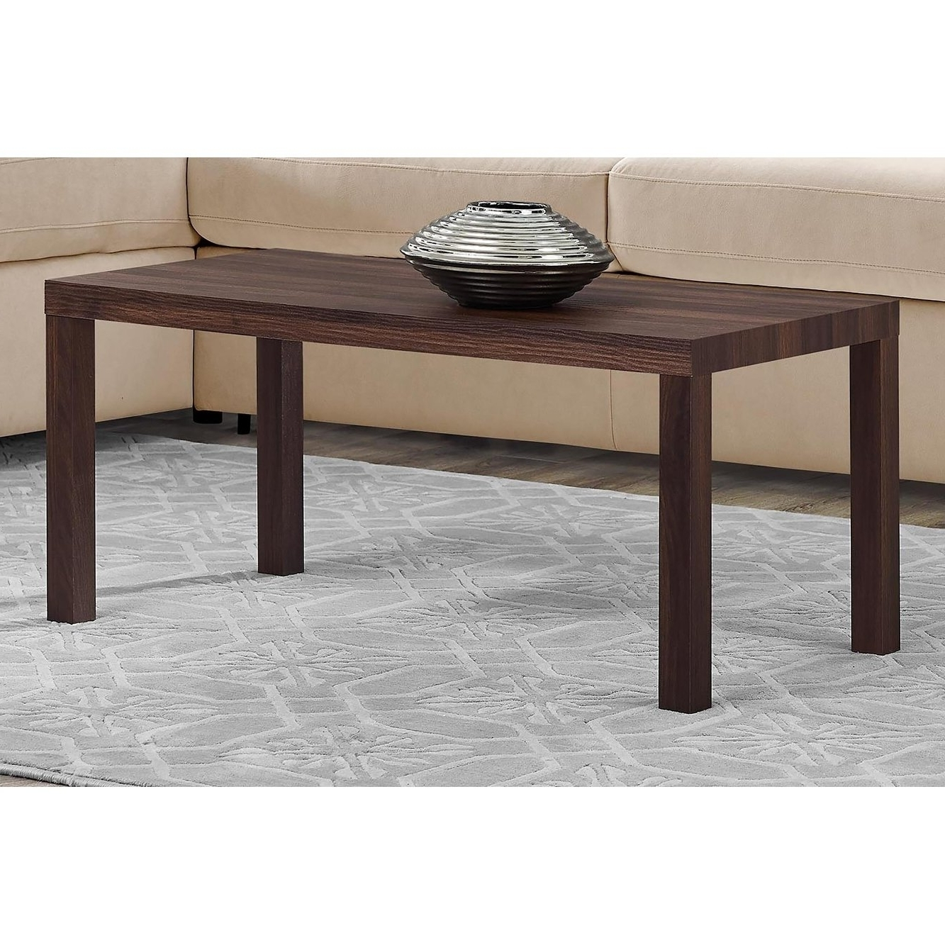 Newest Jaxon Cocktail Tables Pertaining To Shop Avenue Greene Jaxon Walnut Coffee Table – Free Shipping Today (View 3 of 20)