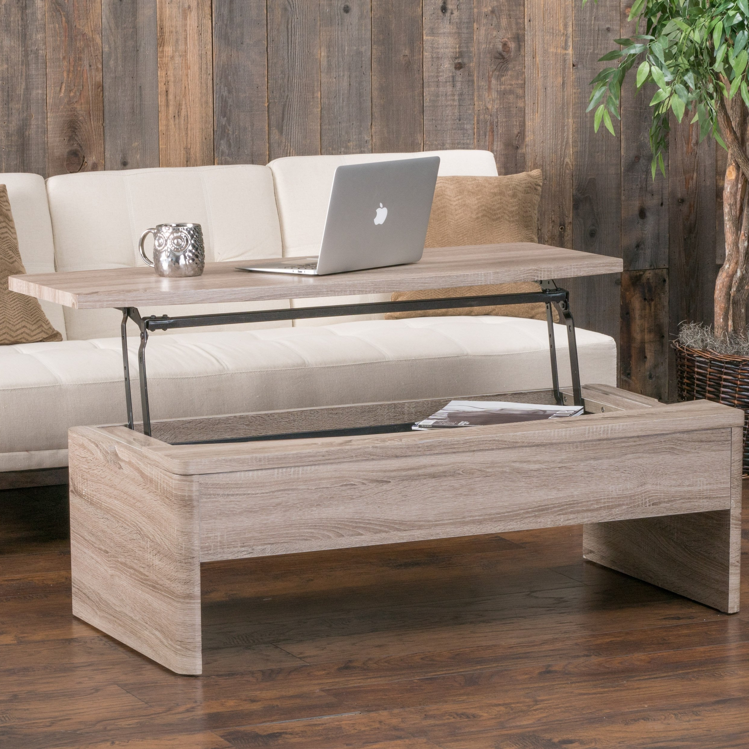 Newest Laurent Lift Top Cocktail Tables For Shop Xander Functional Lift Top Wood Storage Coffee Table (View 11 of 20)