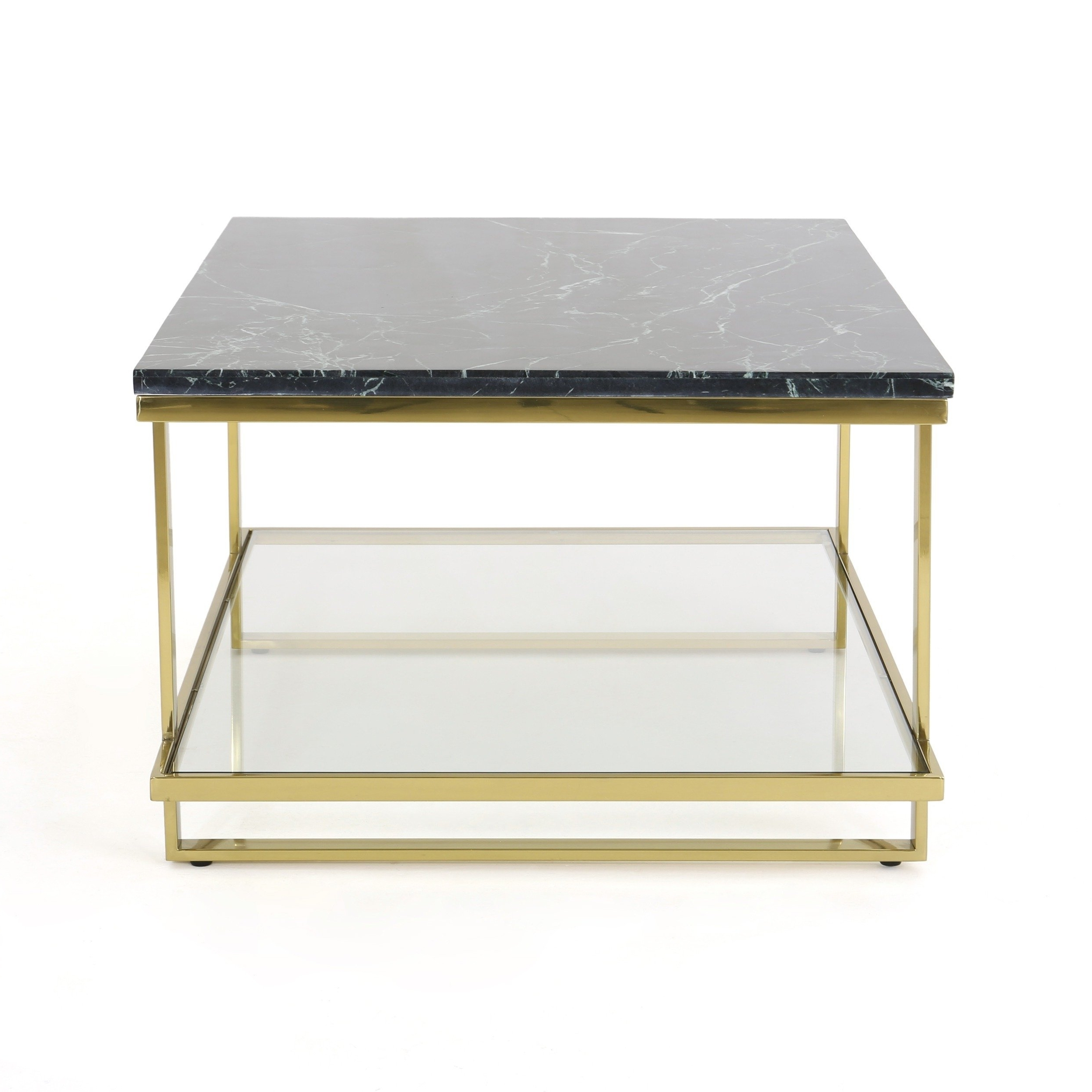 Newest Modern Marble Iron Coffee Tables Inside Shop Mytch Modern Marble Coffee Tablechristopher Knight Home (View 14 of 20)
