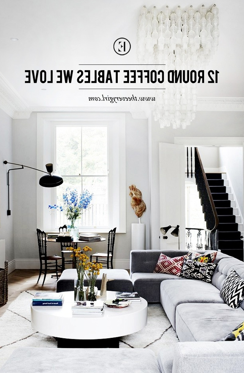 Newest Shroom Large Coffee Tables Within 12 Round Coffee Tables We Love – The Everygirl (View 9 of 20)