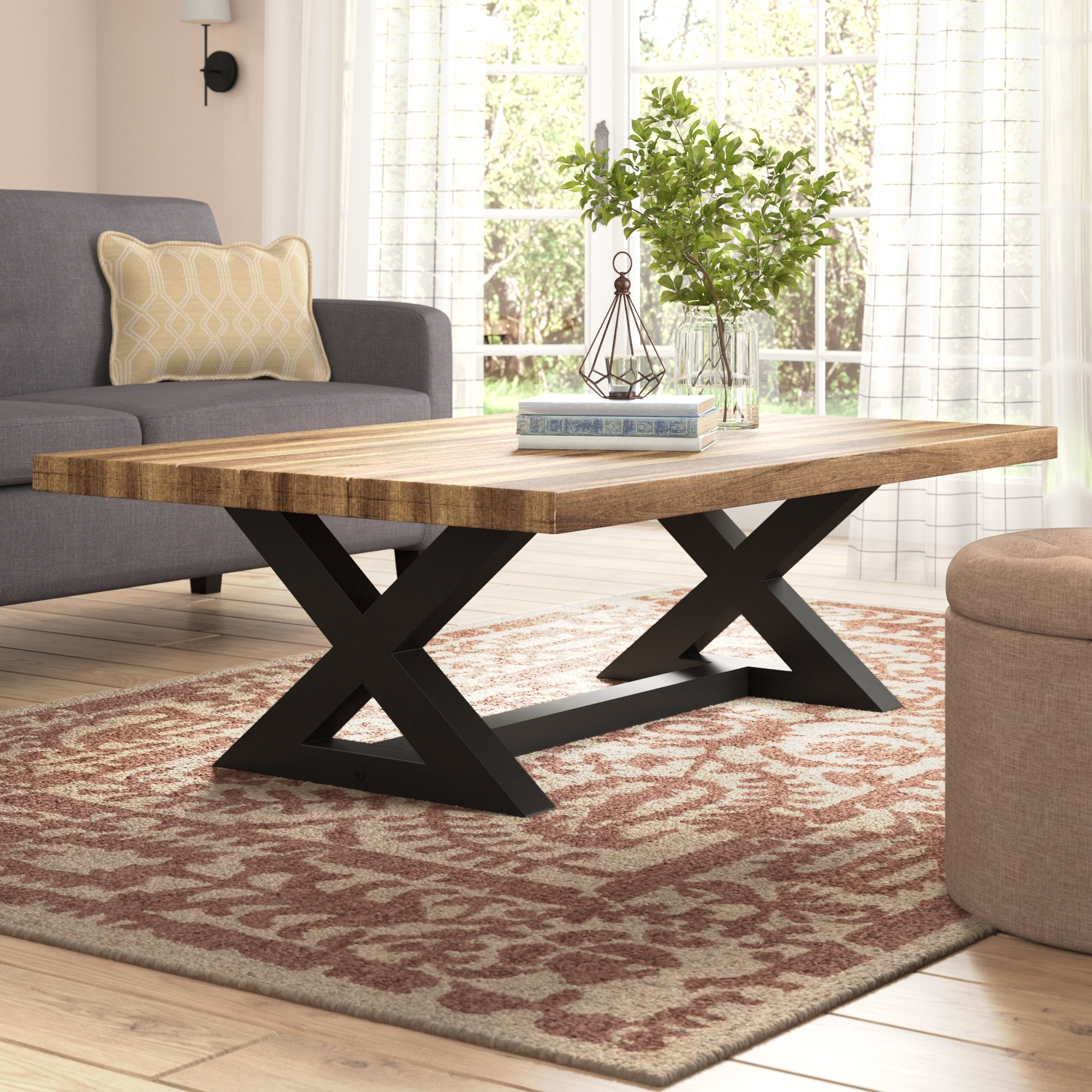 Newest Swell Round Coffee Tables Intended For Laurel Foundry Modern Farmhouse Vivier Coffee Table & Reviews (View 13 of 20)