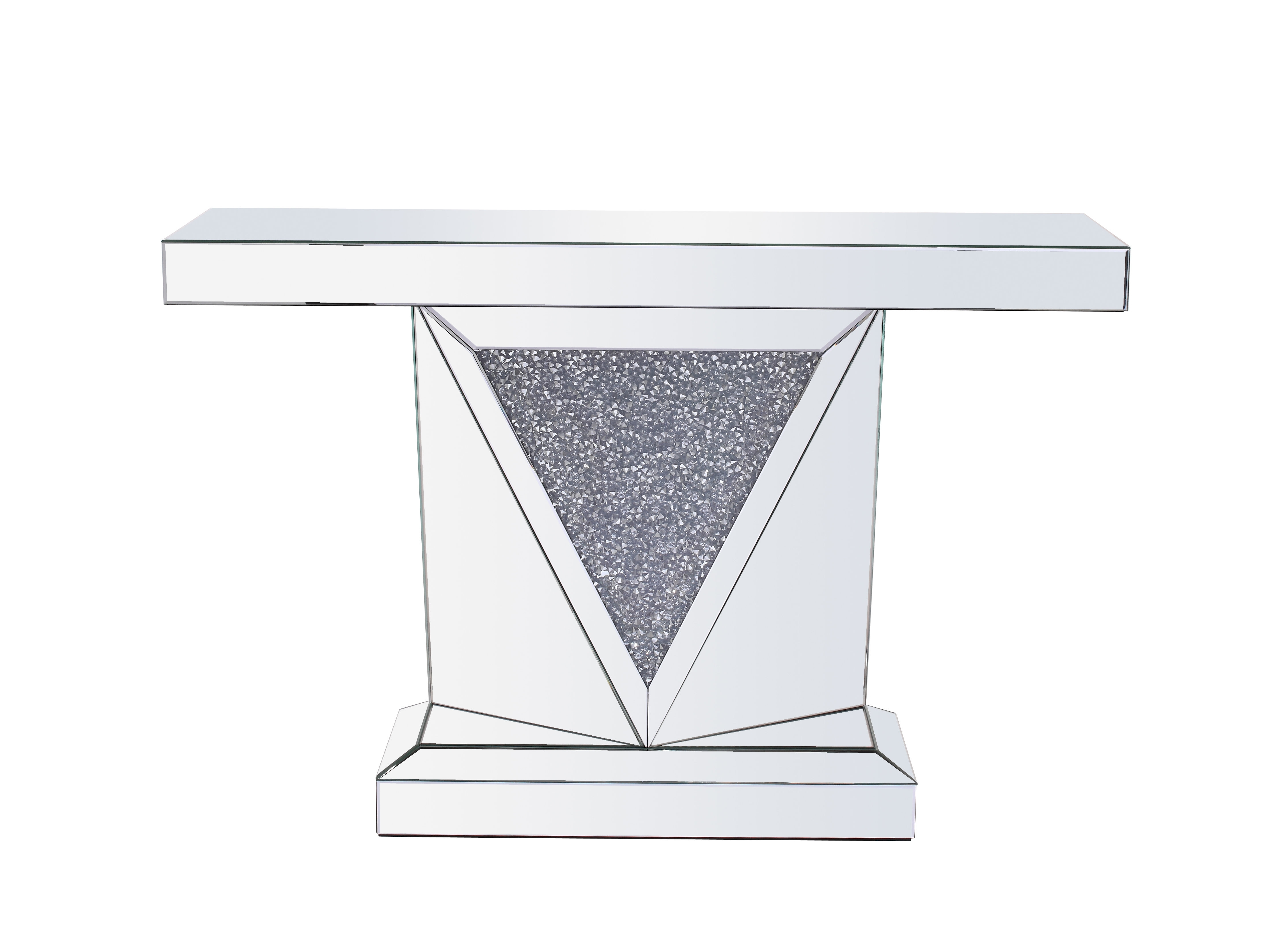 Newest Zander Cocktail Tables With Regard To Rosdorf Park Zander Crystal Console Table (View 18 of 20)