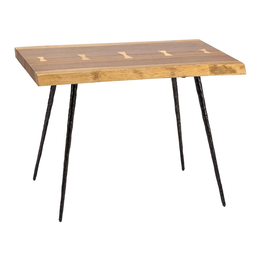 Nexa Side Table – Smoked Oak – Rouse Home Within Famous Smoked Oak Side Tables (View 13 of 20)