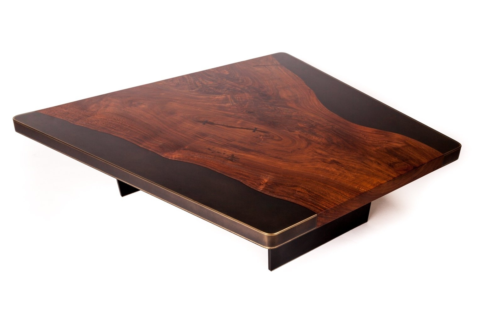 Nola Cocktail Table, Customizable Wood, Metal And Resin For Sale At With Regard To 2018 Nola Cocktail Tables (View 2 of 20)