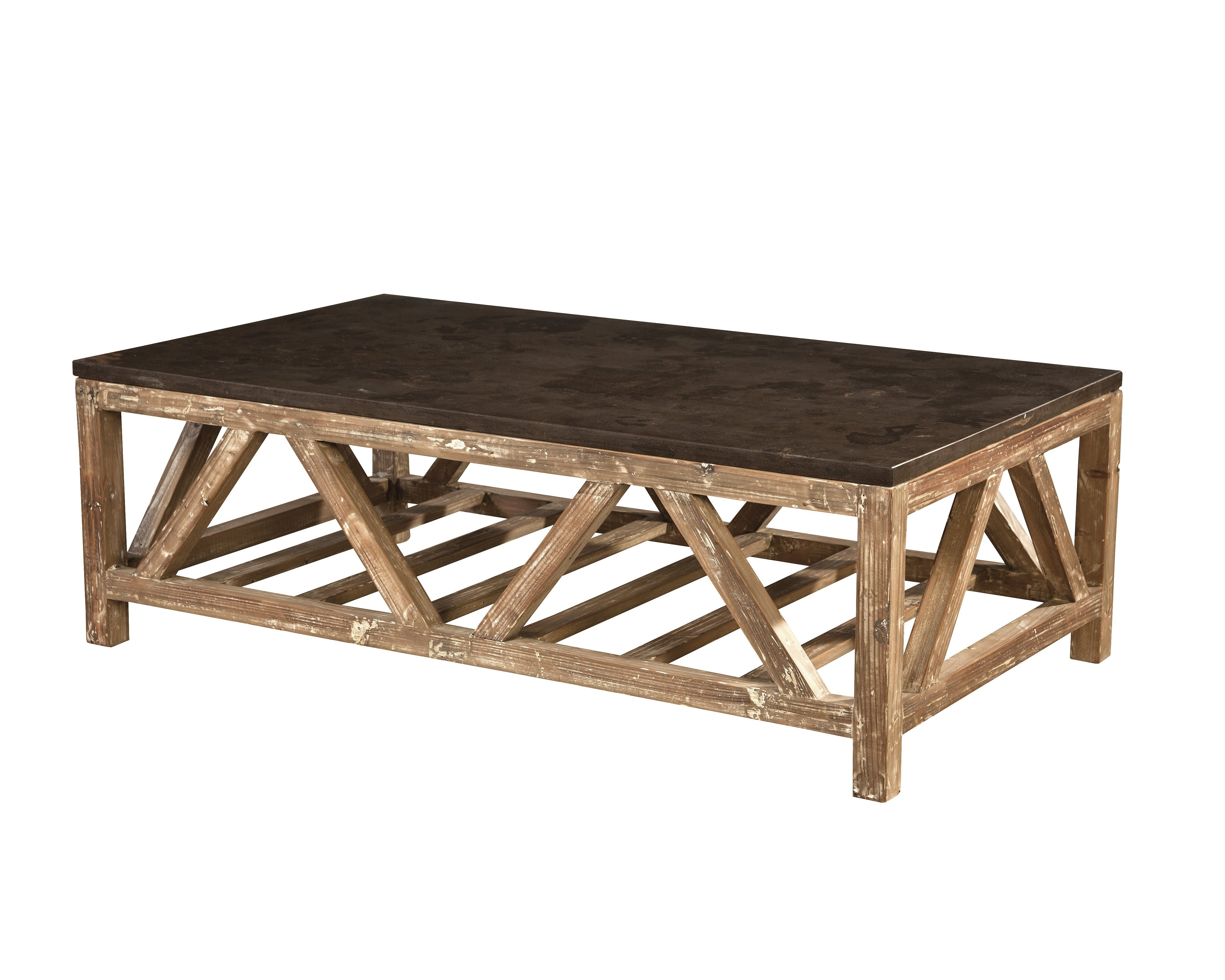 Old Fir And Bluestone Coffee Table (View 16 of 20)