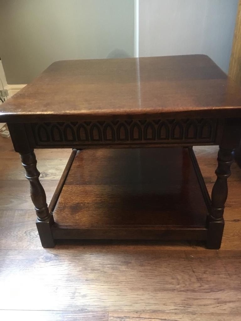 Old Mill Dining Furniture Good Condition, Coffee Table, Dining Table Regarding Most Current Mill Coffee Tables (Gallery 6 of 20)