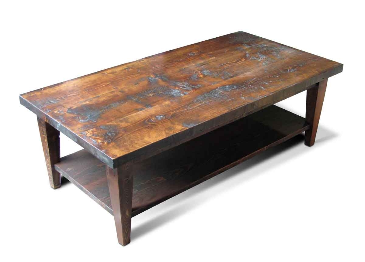 Olde Good Things In Well Known Reclaimed Pine Coffee Tables (View 3 of 20)