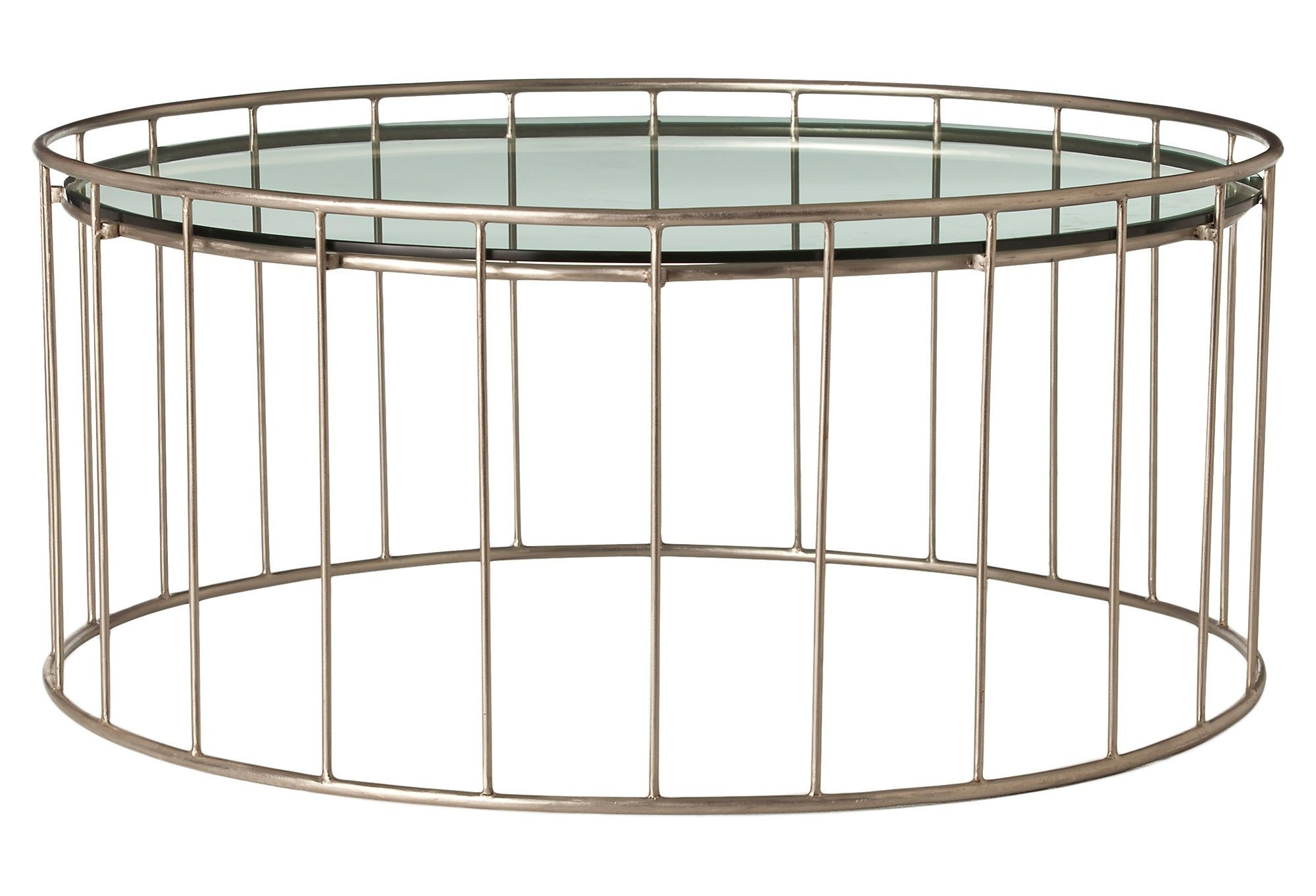 One Kings Lane – Arteriors – Olivia Iron & Glass Cocktail Table Throughout Well Known Shelter Cocktail Tables (Gallery 5 of 20)