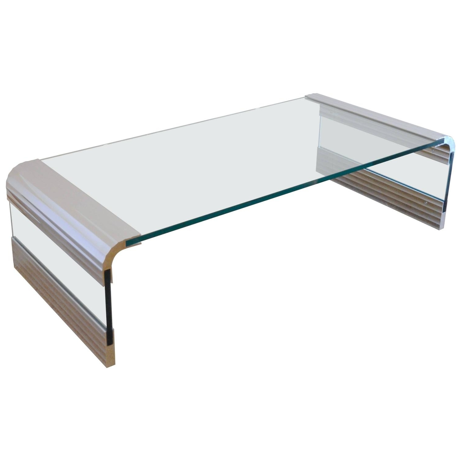 Pace Collection Coffee And Cocktail Tables – 83 For Sale At 1stdibs Throughout Best And Newest Square Waterfall Coffee Tables (View 11 of 20)
