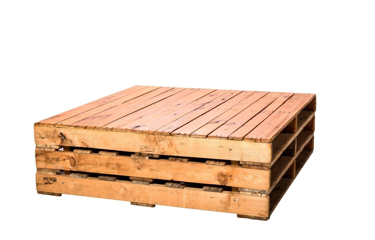 Pallet Coffee Table Large – 1.2Ml X  (View 14 of 20)