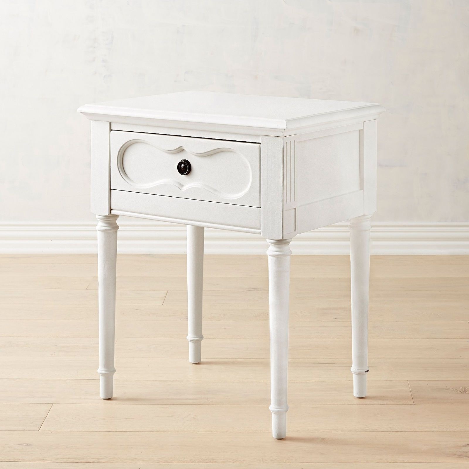 Pier 1 Imports Magnolia Home Jo's White Cameo Nightstand Throughout Most Recent Cameo Cocktail Tables (View 13 of 20)