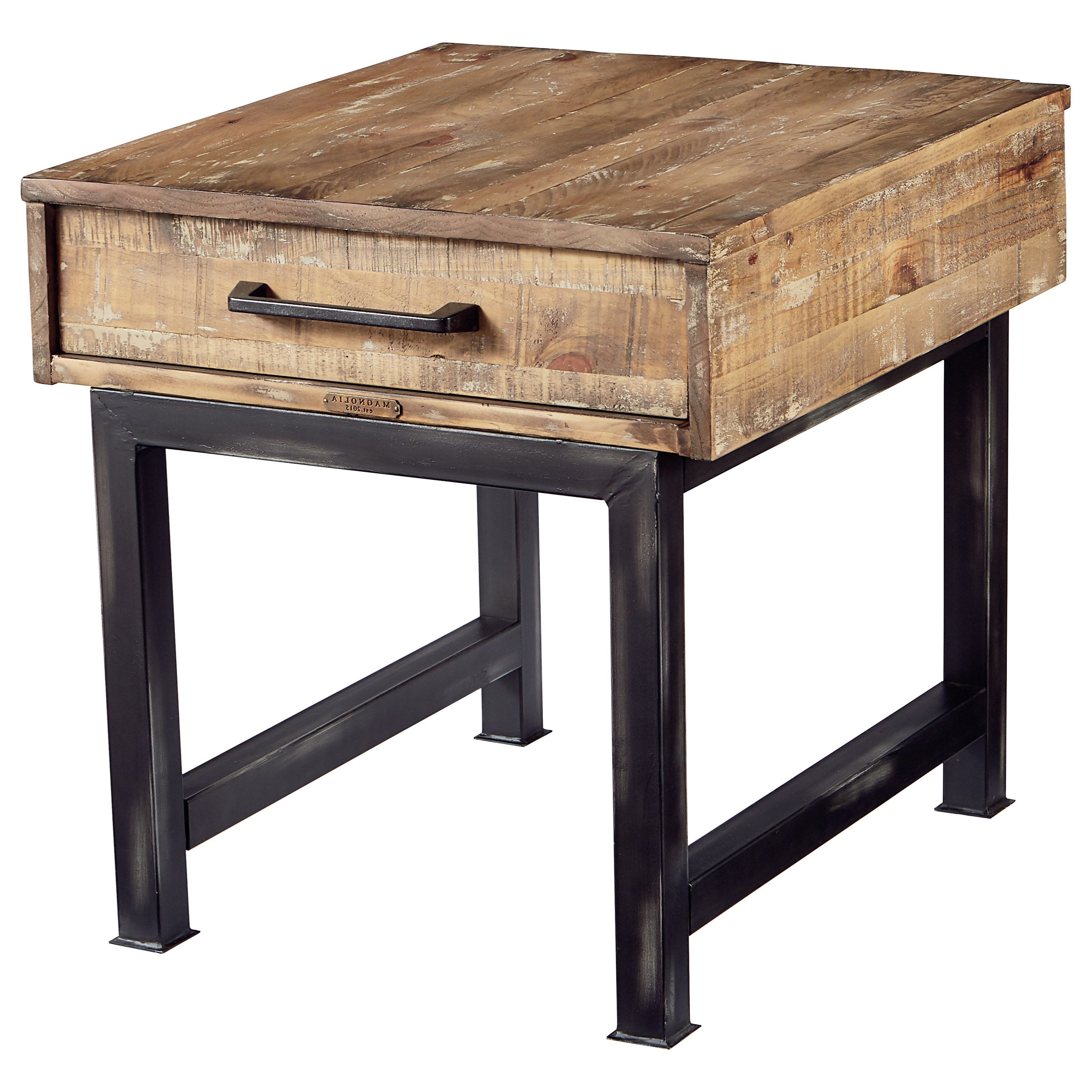 Pier And Beam End Tablemagnolia Homejoanna Gaines (View 15 of 20)