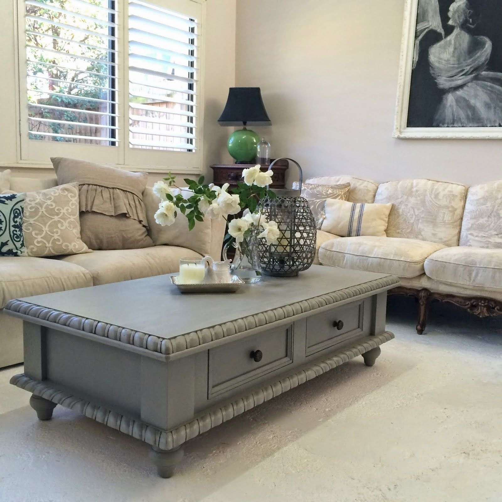 Pine Coffee Table Makeover (View 20 of 20)
