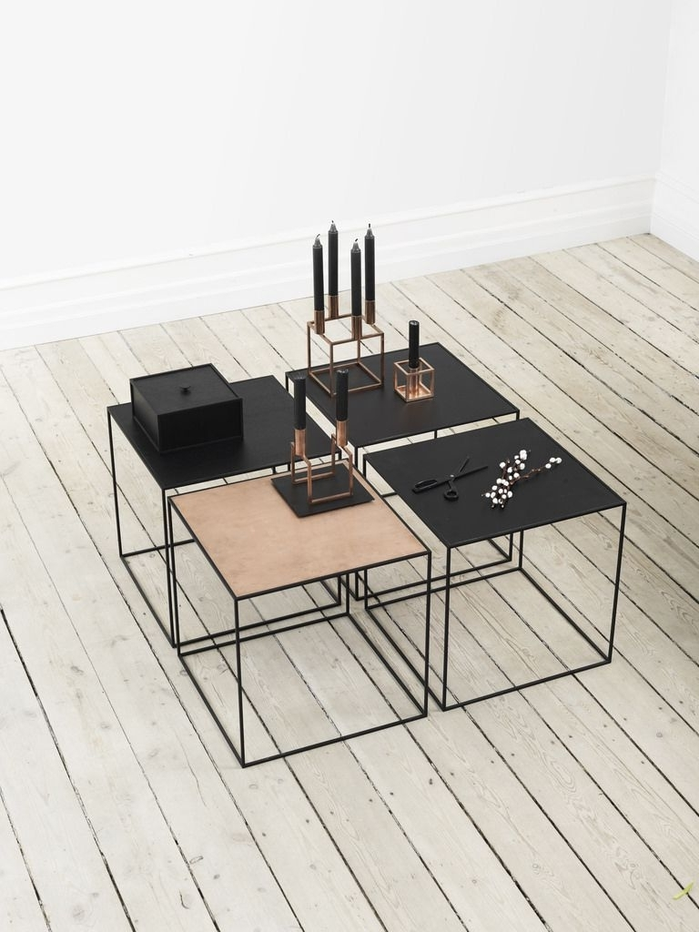 Featured Photo of Flat Black And Cobre Coffee Tables