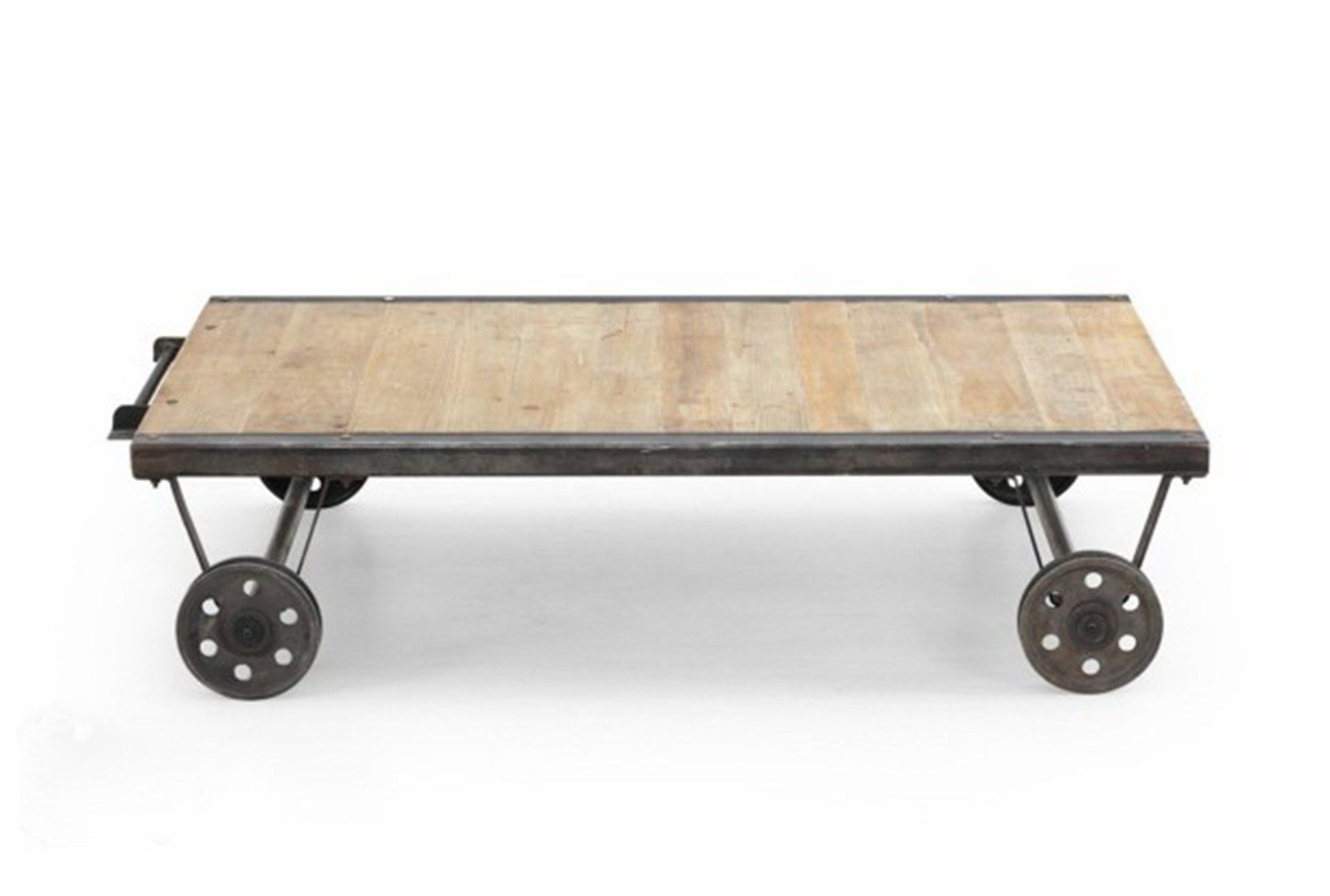Featured Photo of Natural Wheel Coffee Tables