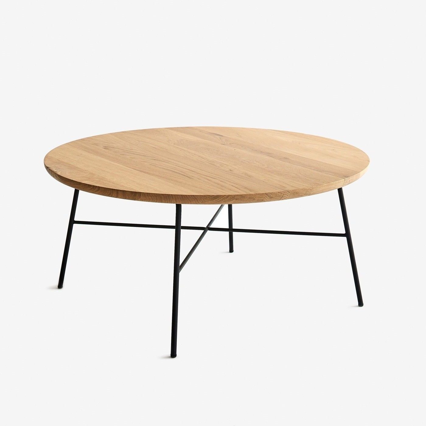 Popular Intertwine Triangle Marble Coffee Tables Regarding Cullom Round Coffee Table (View 3 of 20)