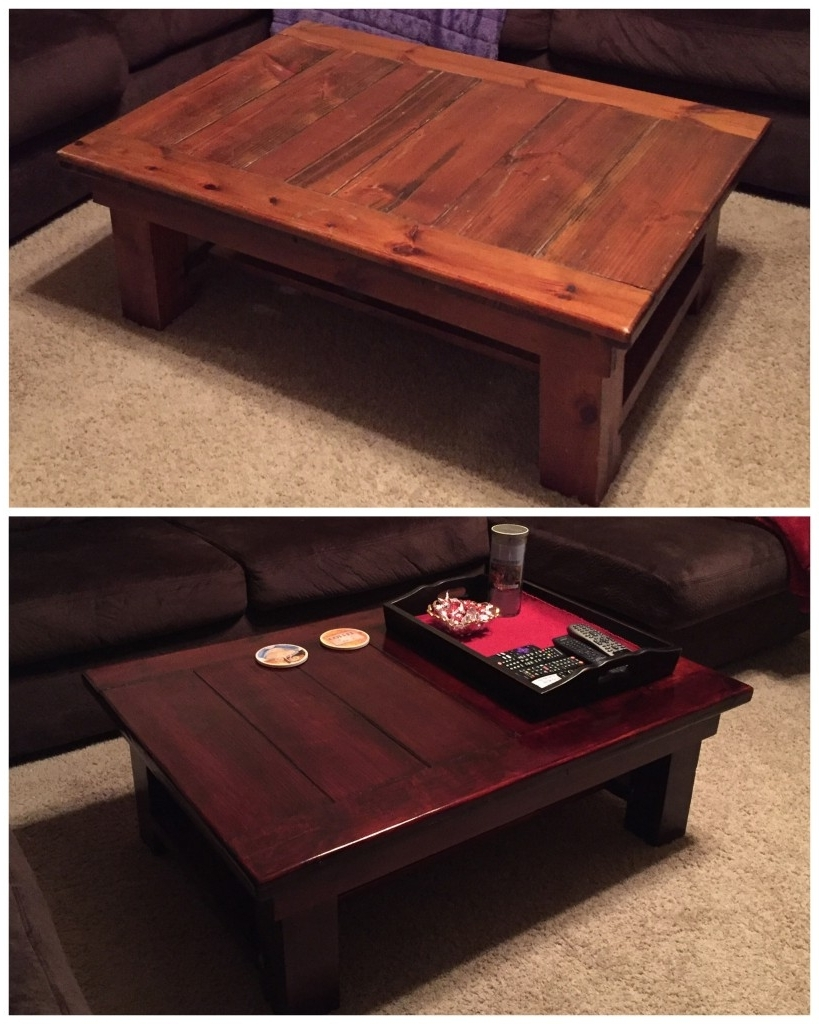 Popular Jelly Bean Coffee Tables Inside Flea Market Finds: Coffee Table Makeover – Two Jelly Beans (View 18 of 20)