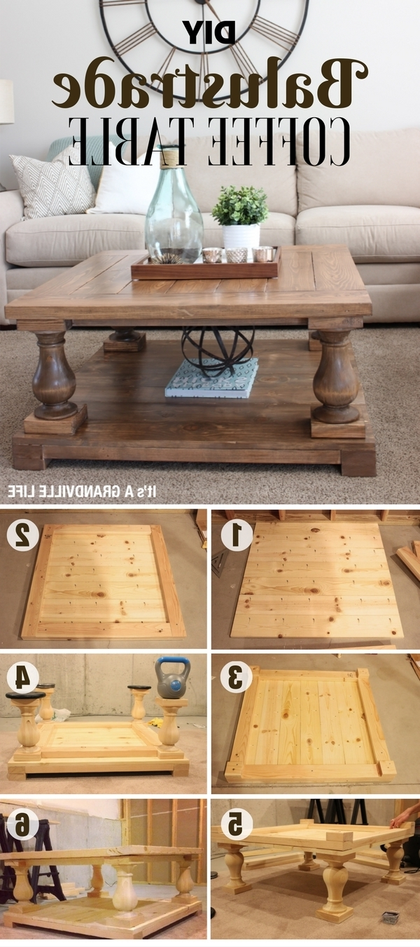 Popular Jelly Bean Coffee Tables Regarding Diy Coffee Table – 40 Easy Ideas You Can Make On A Budget (View 16 of 20)