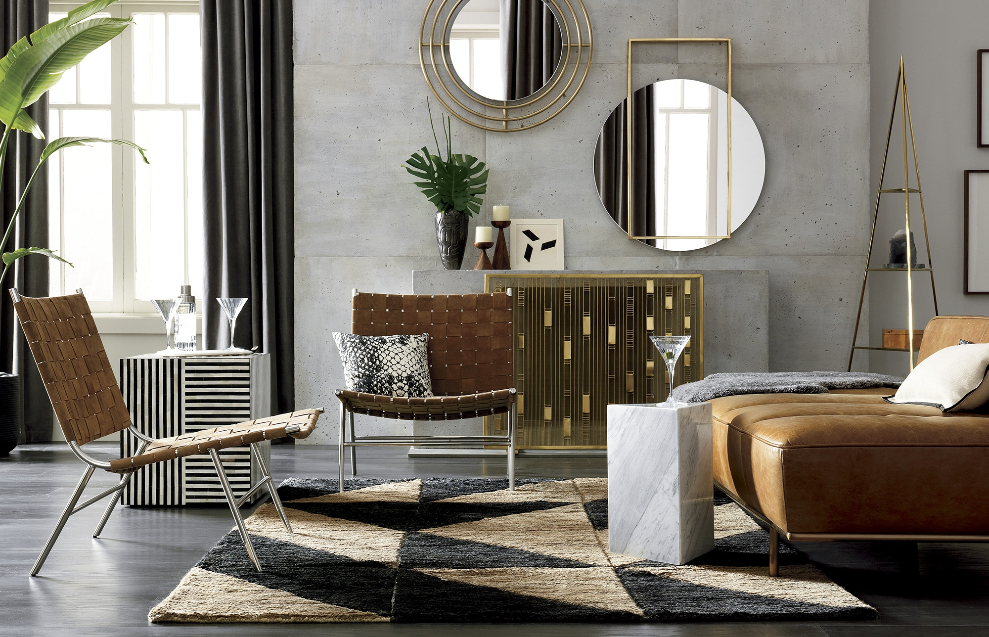 Popular Joni Brass And Wood Coffee Tables In Big Dipper Floor Lamp Fresh Nicks White Hammered Side Table Big (View 16 of 20)