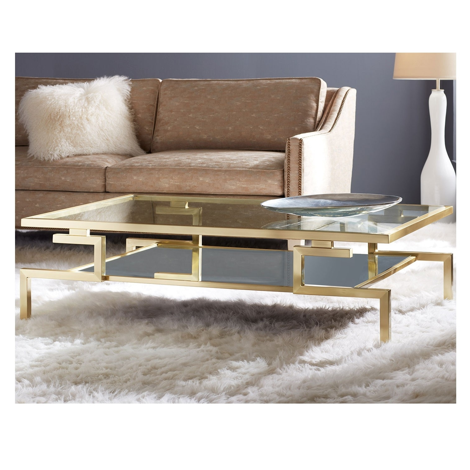 Popular Kai Large Cocktail Tables Regarding Large Gravity Cocktail Table – Gold (View 5 of 20)