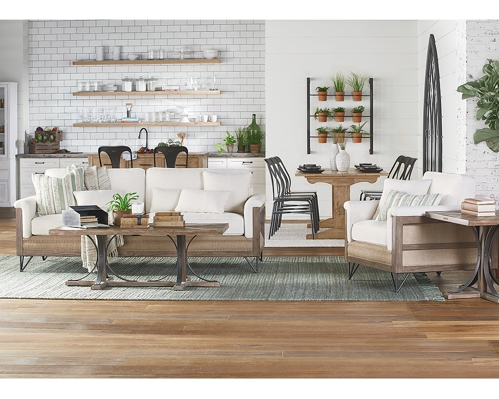 Popular Magnolia Home Louver Cocktail Tables Regarding Living Room – Magnolia Home (View 7 of 20)