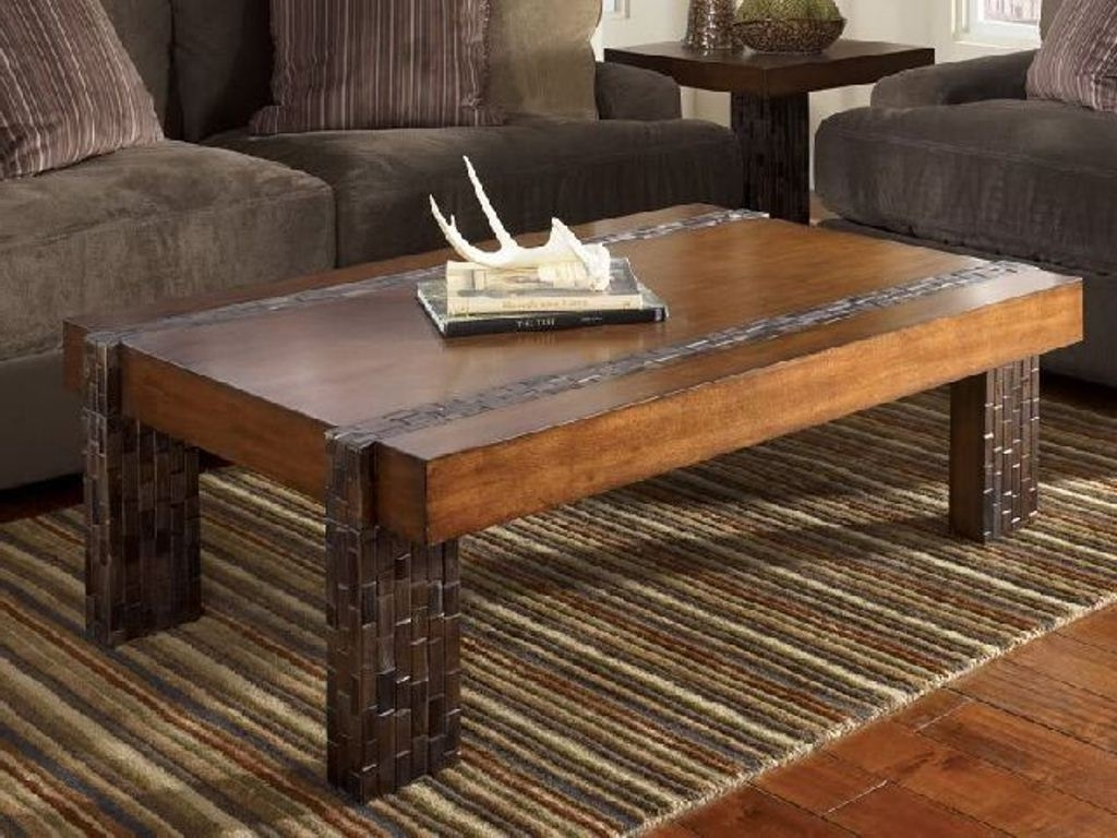 Popular Modern Rustic Coffee Tables In Home Design Ideas Fantastic Easy Rustic Coffee Table With Storage (View 11 of 20)