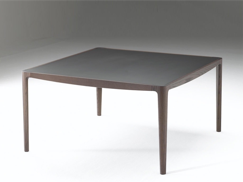 Popular Smoked Oak Coffee Tables With Regard To Saturno Table Smoked Oak – Contemporary Modern Italian Furniture (View 8 of 20)