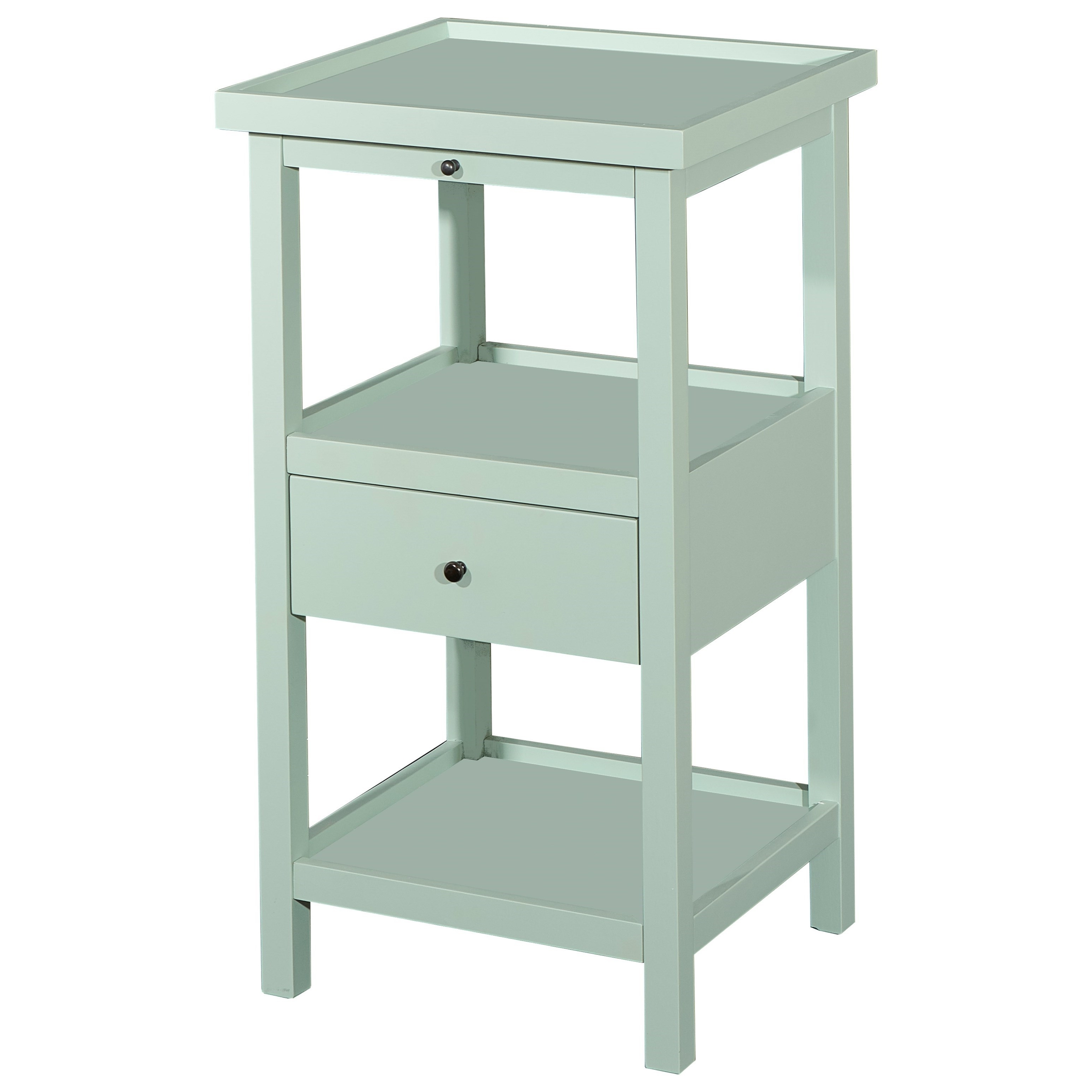 Powell Accent Furniture Palmer Table With Shelf (View 17 of 20)