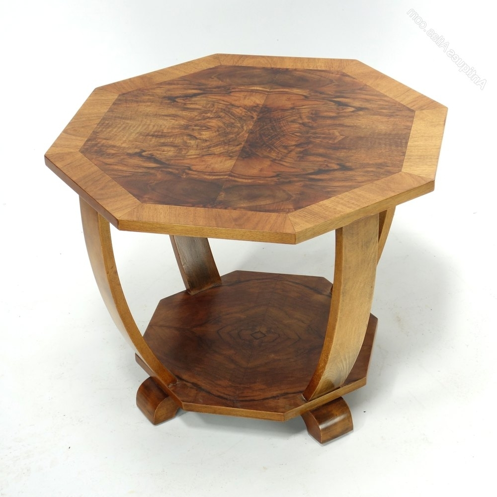 Preferred Antiqued Art Deco Coffee Tables With Regard To Art Deco Coffee Side Table C (View 2 of 20)