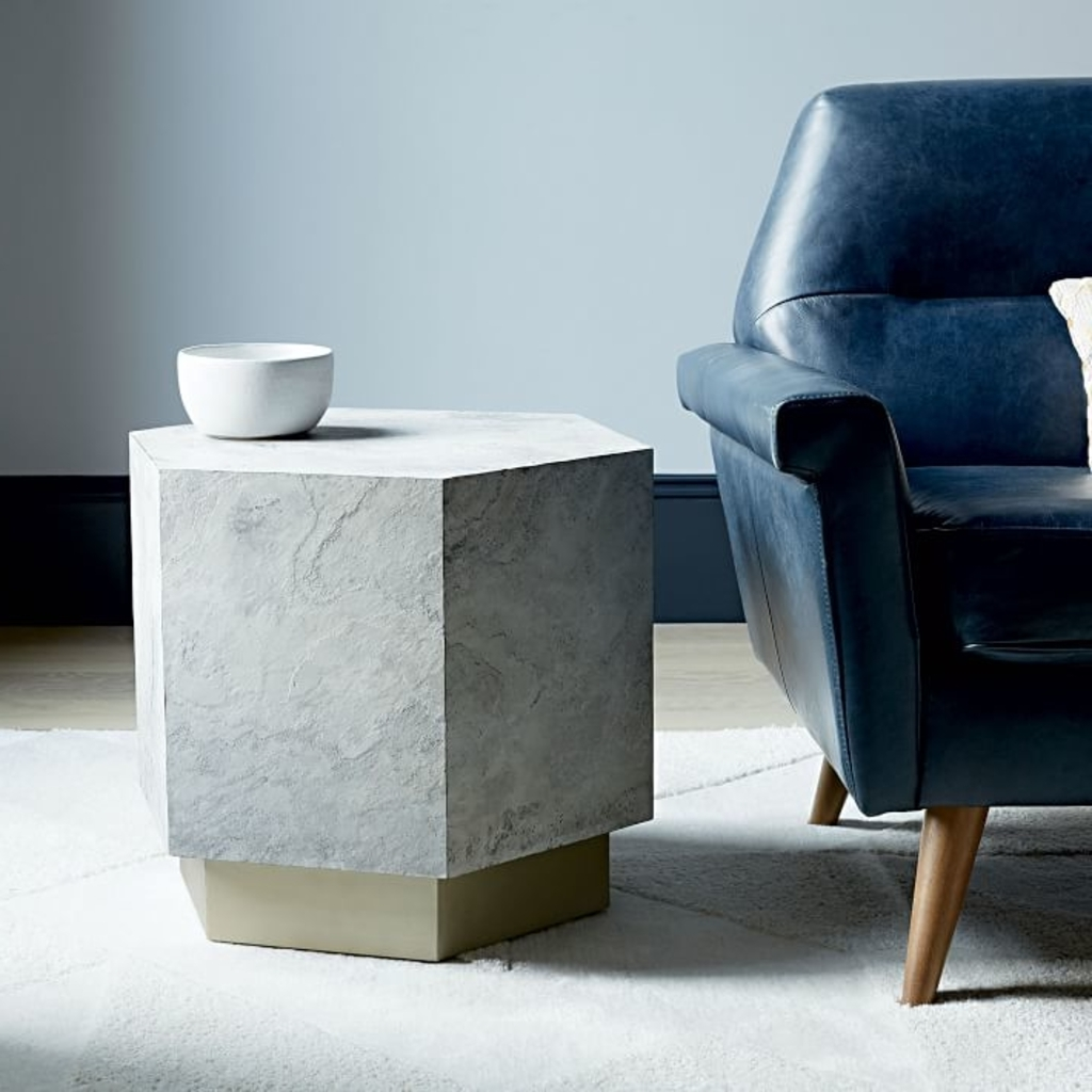 Preferred Geo Faceted Coffee Tables In Design Ideas: Geo Side Table From West Elm – A 2016 Fall Preview (View 16 of 20)