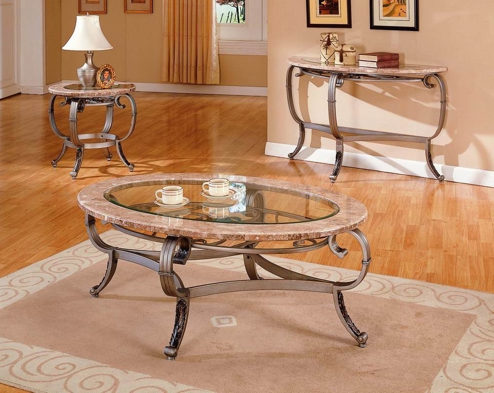Preferred Modern Marble Iron Coffee Tables Pertaining To Living Room Glass And Marble Coffee Table Copper And Marble Coffee (View 16 of 20)
