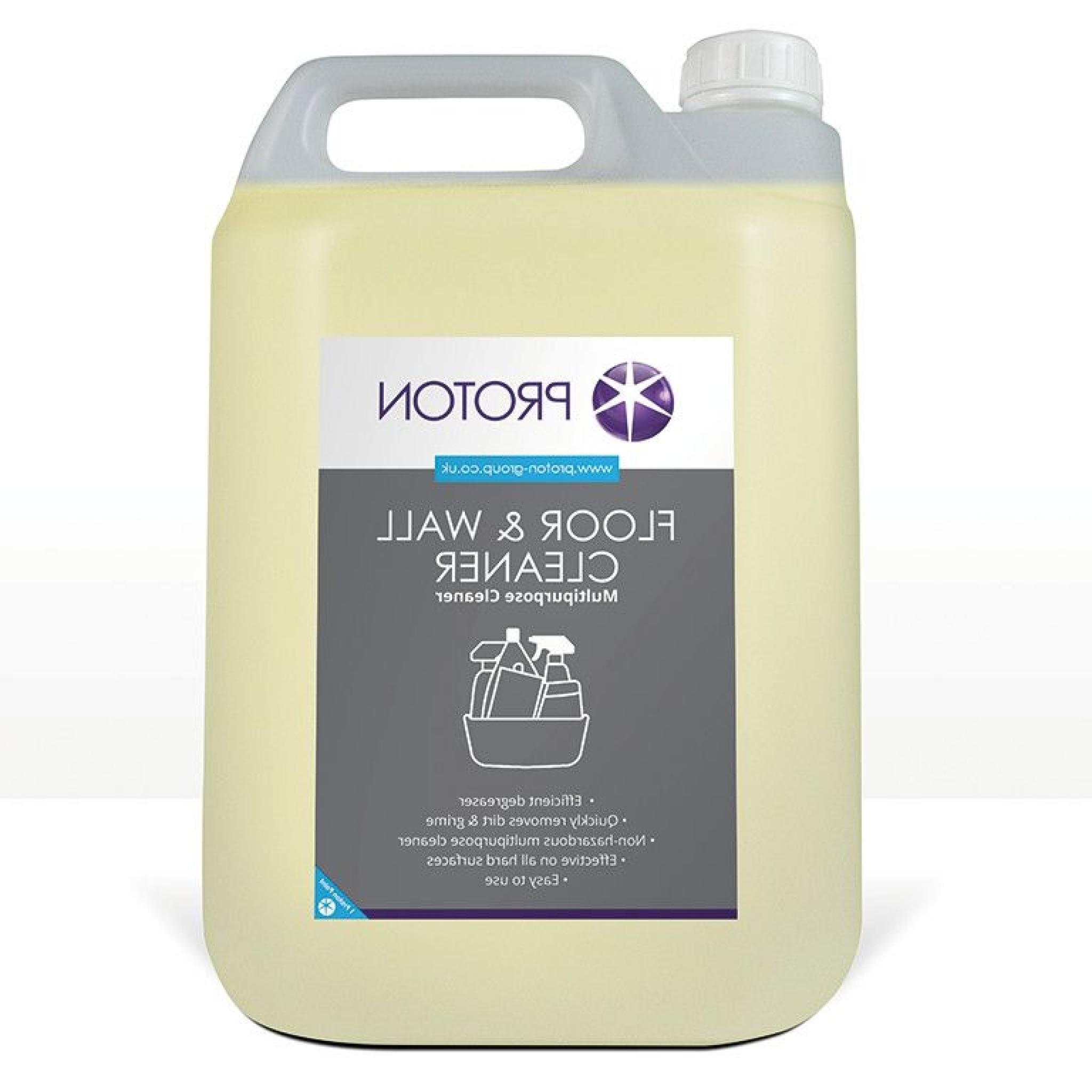 Proton Floor & Wall Degreaser Multi Purpose Cleaner – 5L In Famous Proton Cocktail Tables (View 13 of 20)
