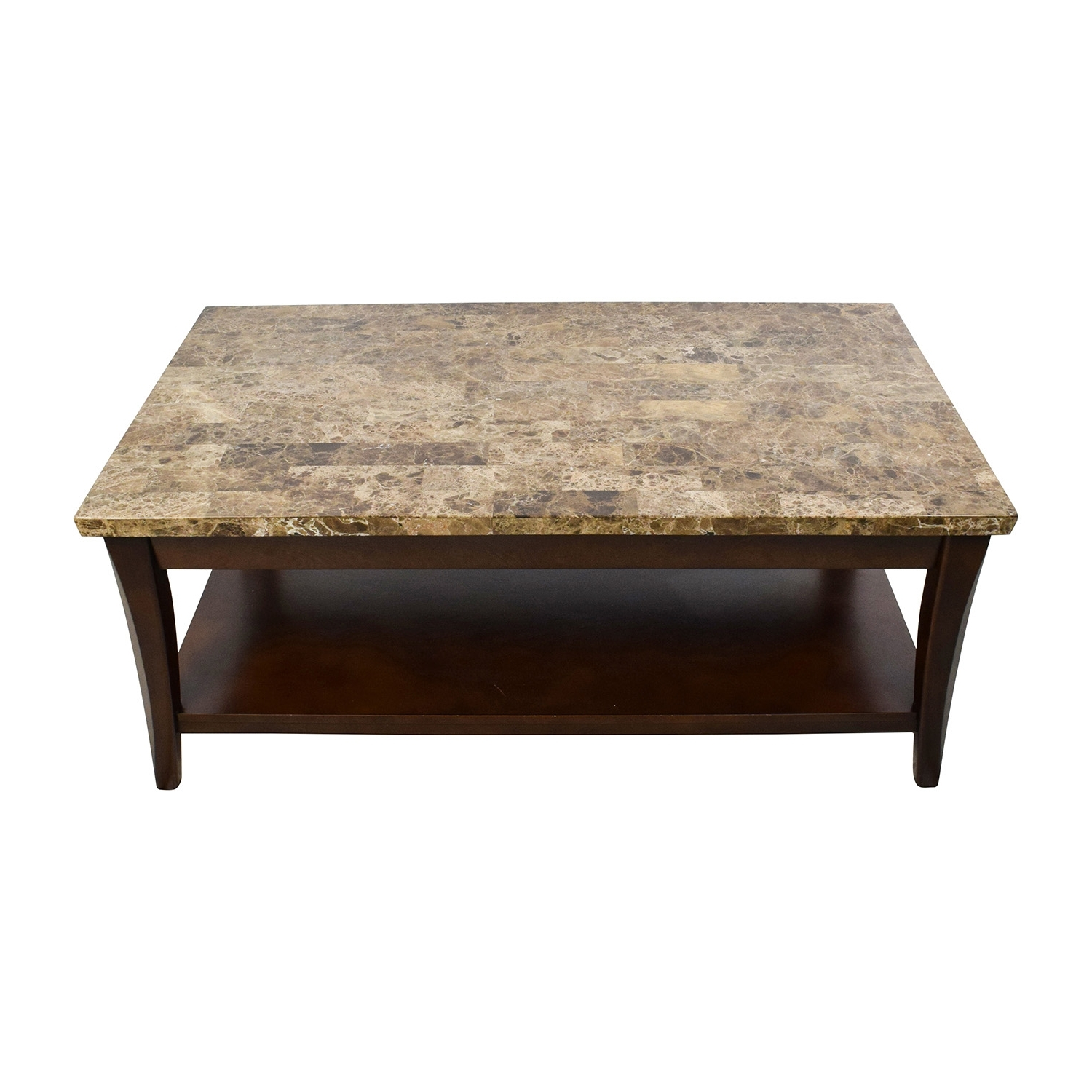 Recent Alcide Rectangular Marble Coffee Tables Within Marble Wood Coffee Table Foter And Tables – Damabianca (View 11 of 20)
