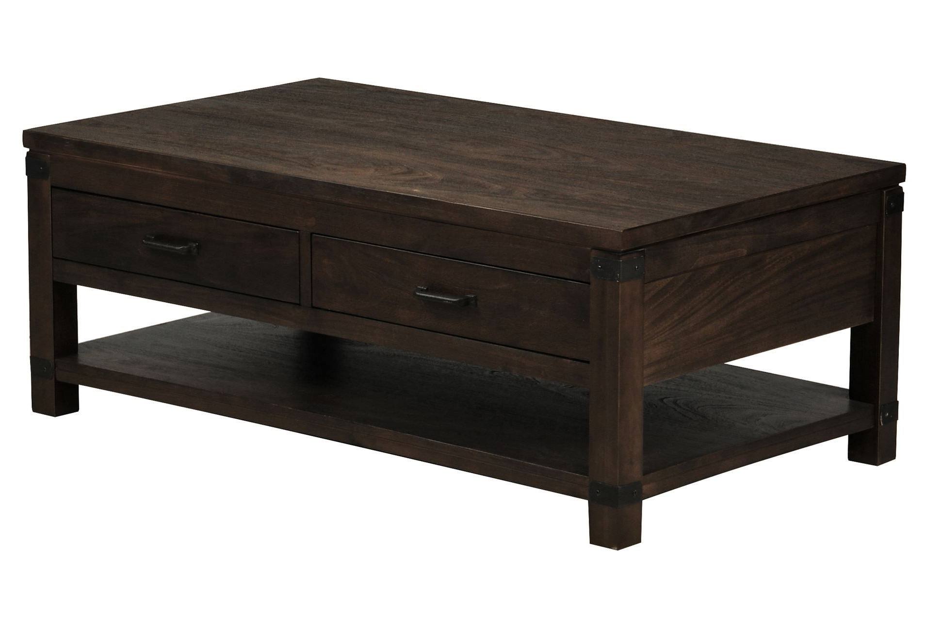 Recent Kelvin Lift Top Cocktail Tables Within Livingston Cocktail Table W/drawers, Brown, Coffee Tables (View 10 of 20)