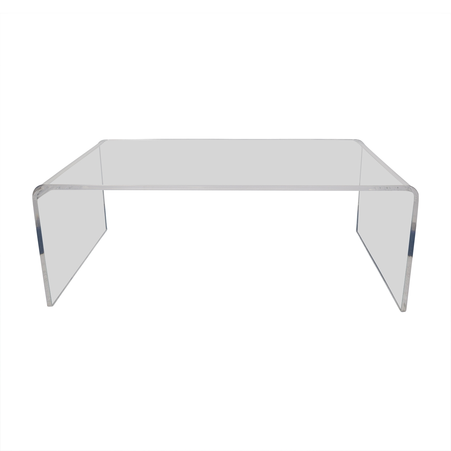 [%Recent Peekaboo Acrylic Coffee Tables Inside 60% Off – Cb2 Cb2 Peekaboo Acrylic Coffee Table / Tables|60% Off – Cb2 Cb2 Peekaboo Acrylic Coffee Table / Tables Throughout Trendy Peekaboo Acrylic Coffee Tables%] (View 2 of 20)