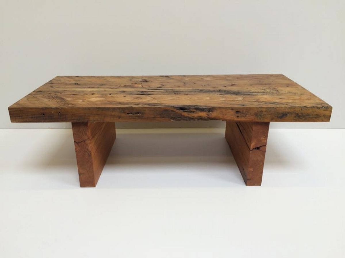 Reclaimed Pine Coffee Table – Coleman & Edwards Makers Of Fine Furniture Throughout Preferred Reclaimed Pine Coffee Tables (View 4 of 20)