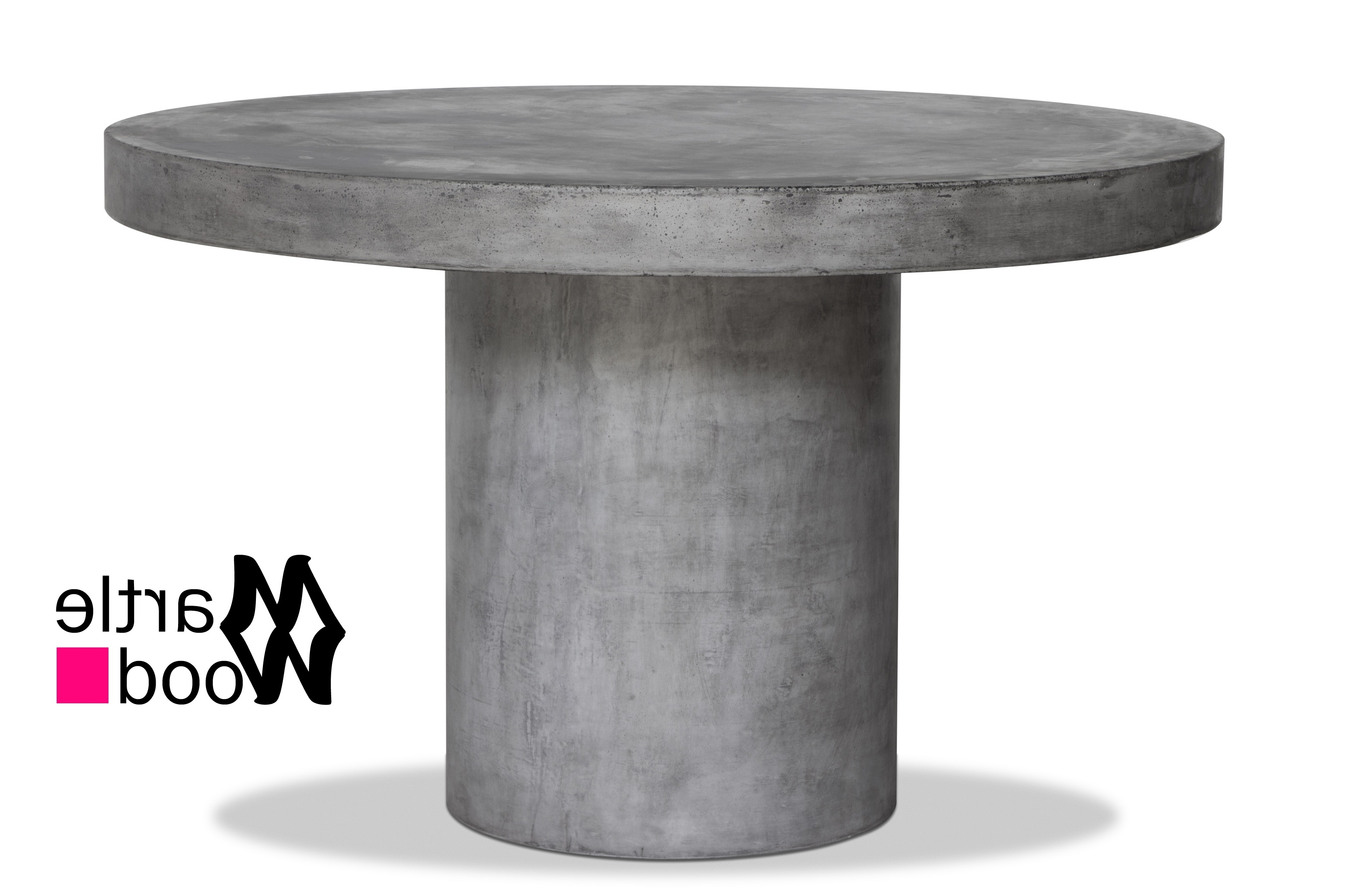 Regent Concrete Coffee Table – Martlewood For Most Up To Date Waxed Metal Coffee Tables (View 14 of 20)
